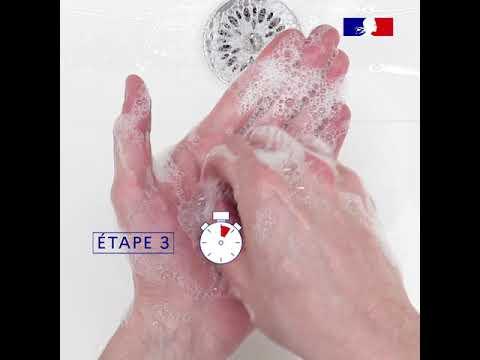 Comment faire un lavage de mains efficace ? - Vidéo